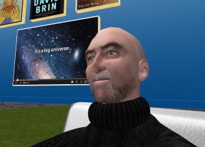 David Brin virtual