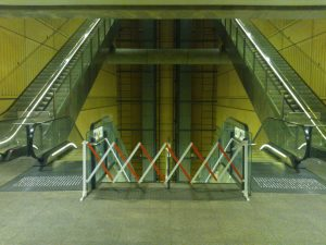 Dystopian Escalators
