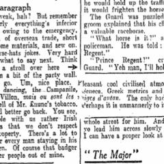Irish Times: Myles na gCopaleen's Cruiskeen Lawn